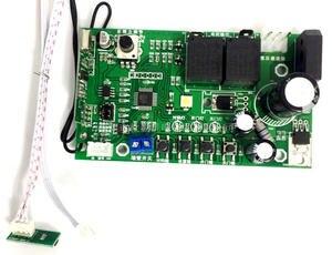 Image 4 - 홀 센서 제한 차고 게이트 도어 오프너 모터 pcb 메인 보드 마더 보드 컨트롤러 2 개의 원격 제어 (24vdc 사용)