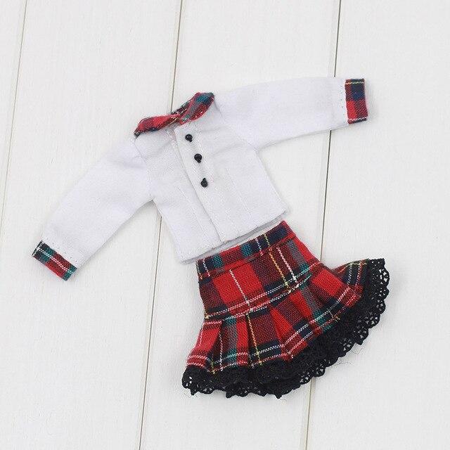 Middie Blythe Doll White Red Dress 1
