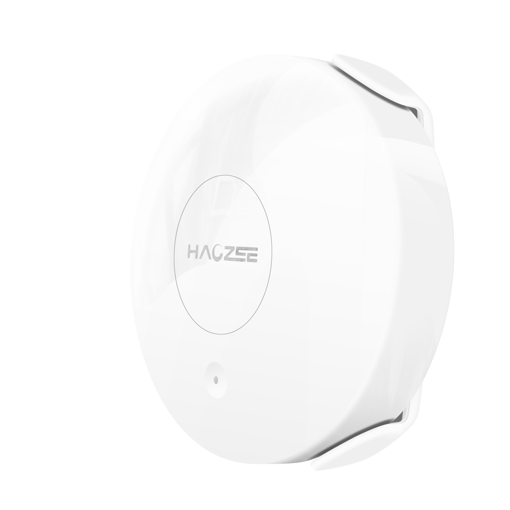 Haozee Smart WiFi Water Sensor Built In Battery Smart Flood Detector With Remote Probe Water Resistant