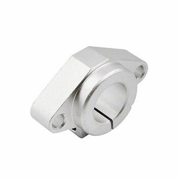 цена на 8pcs SHF8 SHF10 SHF12 SHF13 SHF16 SHF20 SHF25 SHF30 linear rail shaft support XYZ Table CNC Router 3D printer Part aluminum cnc