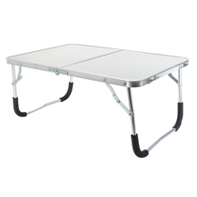 Aluminium Alloy Portable Foldable Desk Stand Portable Laptop Computer Lapdesk for Bed Sofa Camping Picnic Stable Desks