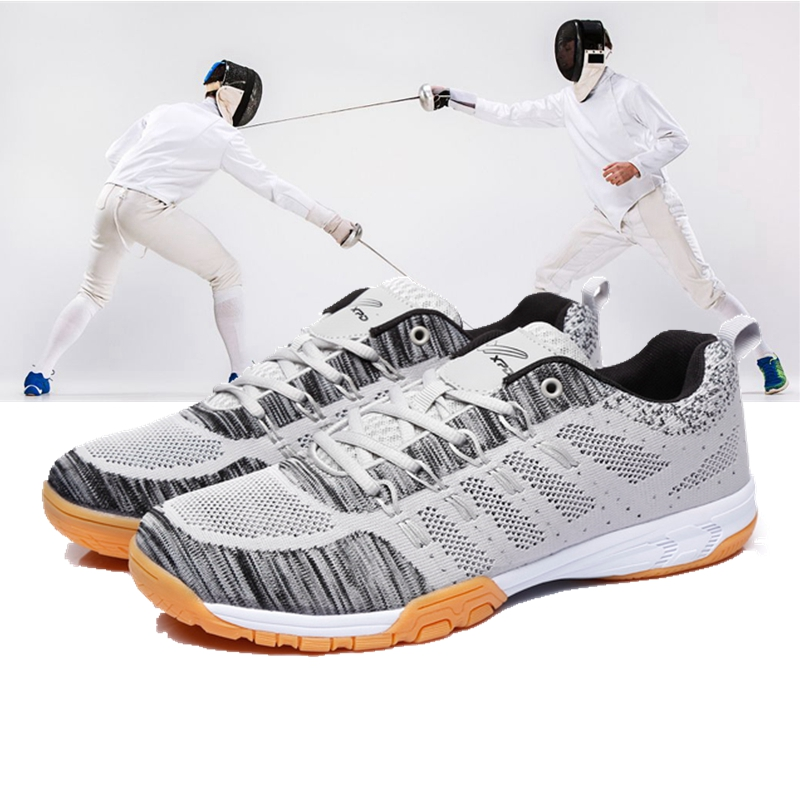 Fencing Shoes Men Women Fencing Sports Shoes Fencing Competition Training Shoes Wear-resistant Anti-skid