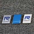 3D สติกเกอร์ Polestar R-DESIGN ไมล์โลโก้ Trunk ฝาปิดทำเครื่องหมายสังกะสีอัลลอยด์ป้าย Refit สำหรับ Volvo Polestar สติกเกอ...