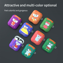 2020 Cartoon Silicone Case For Airpods 1 2 Case Wireless Bluetooth Case for airpod 2 Cover Case For Apple Air Pods Fundas Coque cartoon silicone case for airpods 2 pro case wireless bluetooth case for airpod 2 3 cover case for apple air pods fundas coque