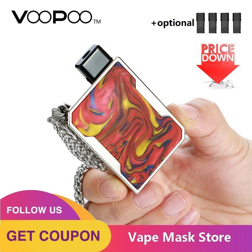 Newest VOOPOO DRAG Nano Pod Vape Kit W/ 750mAh Battery & 1ml Cartridge & GENE Chip & Resin Panel Pod System Vs Drag 2