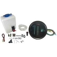 1 Set 12V 1.5L Universal Motorcycle Car Wind Shield Washer & 1 Set Universal Car Motor 52mm Fuel Meter