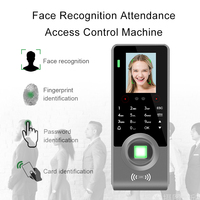 Eseye Face Fingerprint Attendance Access Control Keypad Rfid Access Control System Touch Doorbell Access Control Device Machine