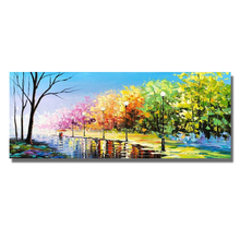 Landscape Oil Painting On Canvas For Living Room Home Decor Pictures Wall Art Paintings No Framed Picture 100% Handpainted