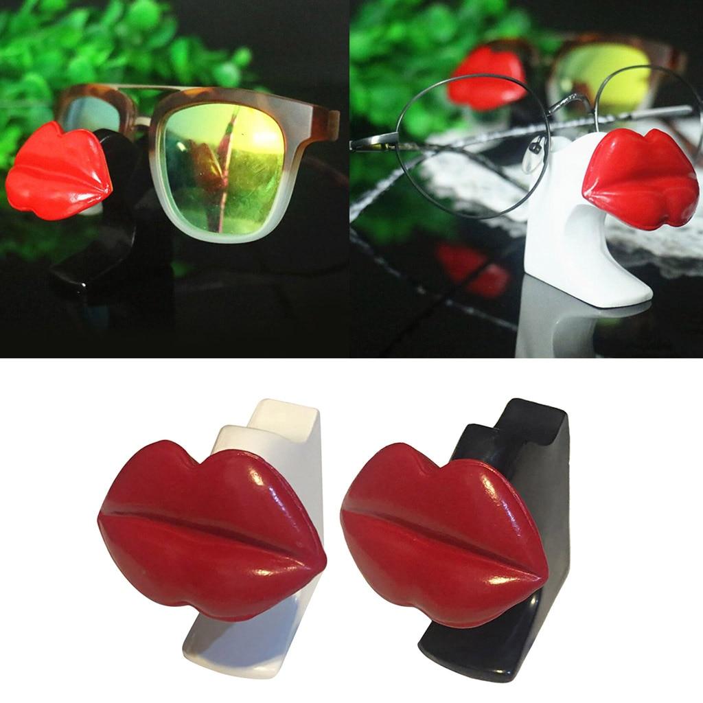 Female Red Lips Glasses Eyeglasses Sunglasses Display Stand Holder Rack