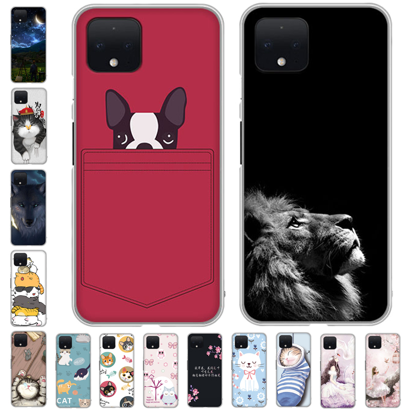 For Google Pixel 4 XL Case Silicone Soft TPU Phone Case For Google Pixel 4 Cover 5.7\\'\\' Coque For Google Pixel XL4 Pixel4
