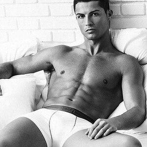Image 5 - 2020 popüler marka erkek baksır şort iç çamaşırı Cristiano Ronaldo CR7 kaliteli pamuk seksi külot çekin erkek külot