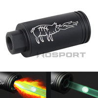 Paintball Airsoft Tracer Lighter S 14mm/10mm Spitfire Effect With Fluorescence Tracer Unit For Shooting Rifle Pistol Auto Tracer