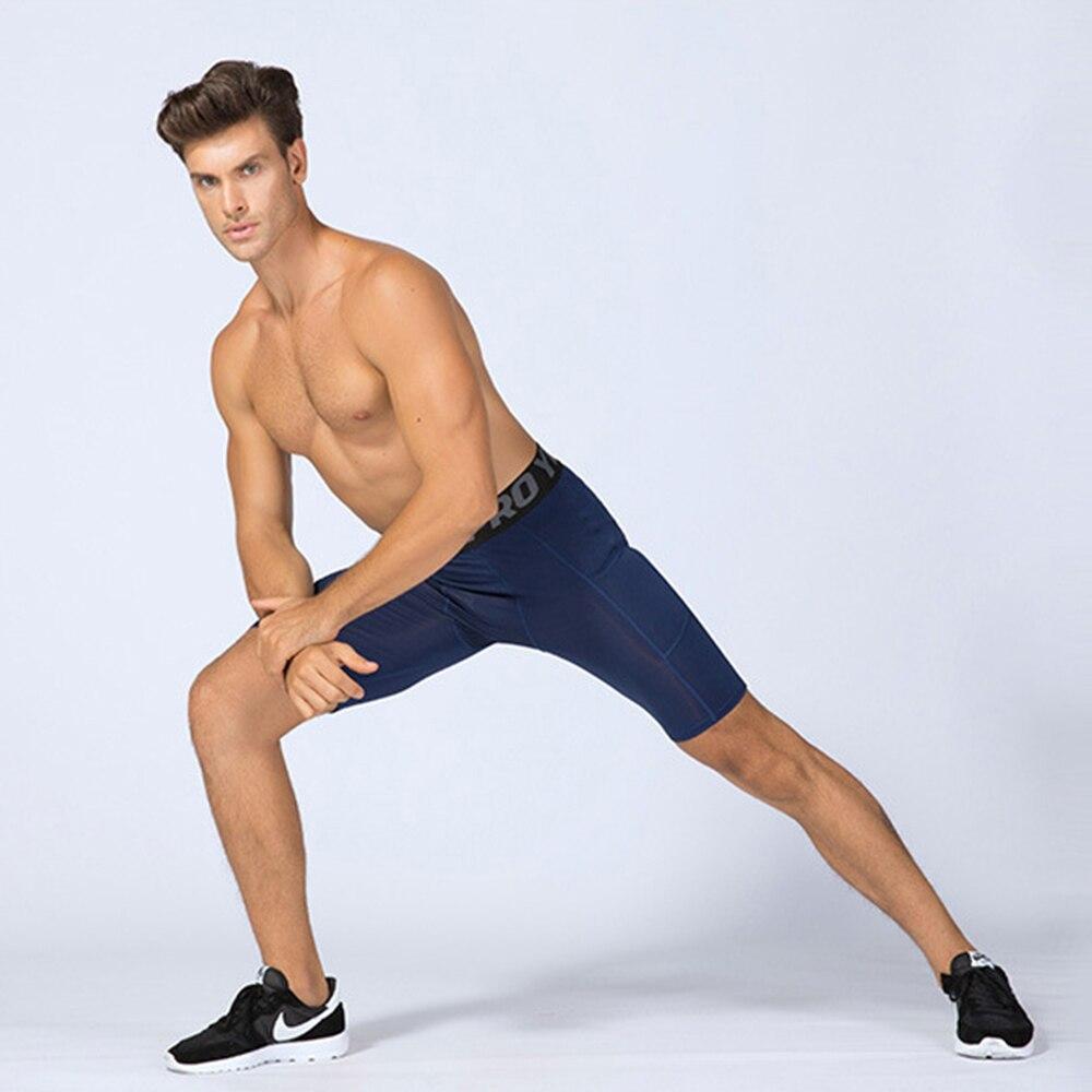 Short de Fitness Pro pour homme avec poches sport course entraînement mèche et séchage rapide collants extensibles vêtements Goth vêtements