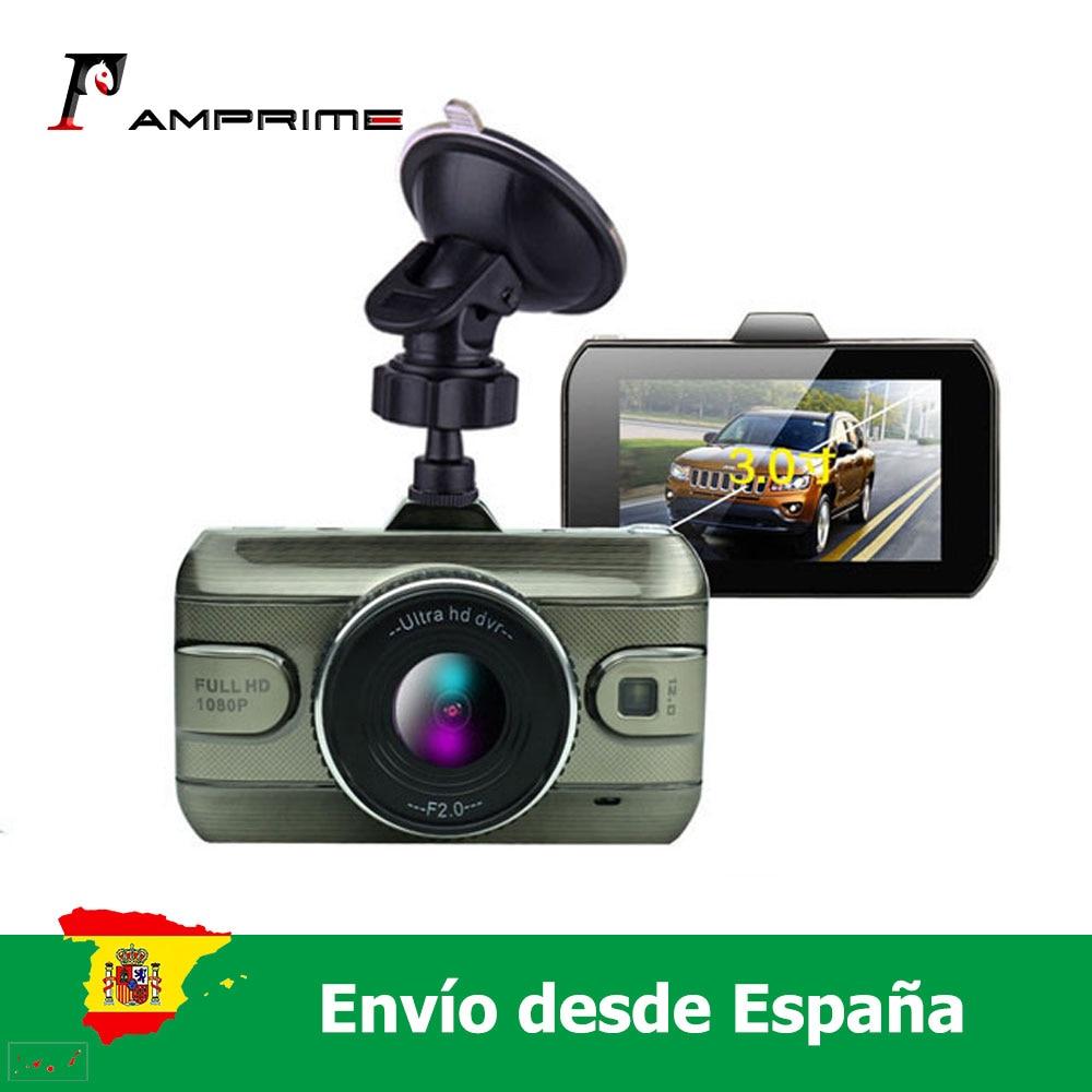 AMprime 3'' Auto Dvr Kamera Auto Video Recorder Loop Aufnahme Dash Cam Nachtsicht Auto Kamera DashCam
