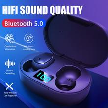 TWS Wireless Earphone For Redmi Airdots Earbuds LED Display Bluetooth V5.0 Heads
