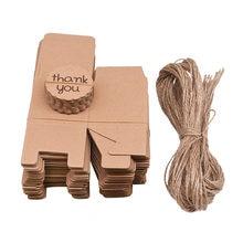 Mini maleta de viaje para regalo, caja de papel para regalo de boda, cumpleaños, recuerdo de Navidad, embalaje, gracias, 10/20/30 Uds.
