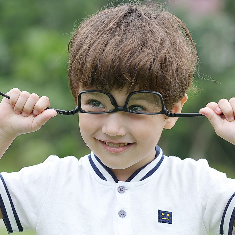 New Children Optical Glasses Frame TR90 Silicone Boys Girls Flexible Eye Protective Kids Eyeglasses Comfortable Eyewear