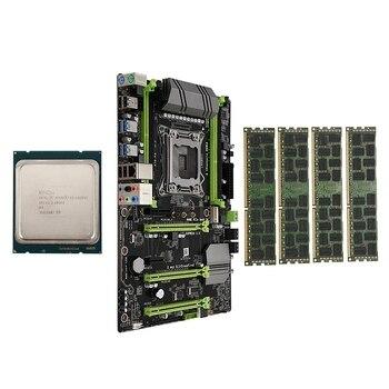 X79-P3 LGA2011 Motherboard Combo Set with E5 1650 V2 CPU 4X8GB 32GB DDR3 RAM 4-Ch 1600Mhz REG ECC NGFF M.2 SSD Slot