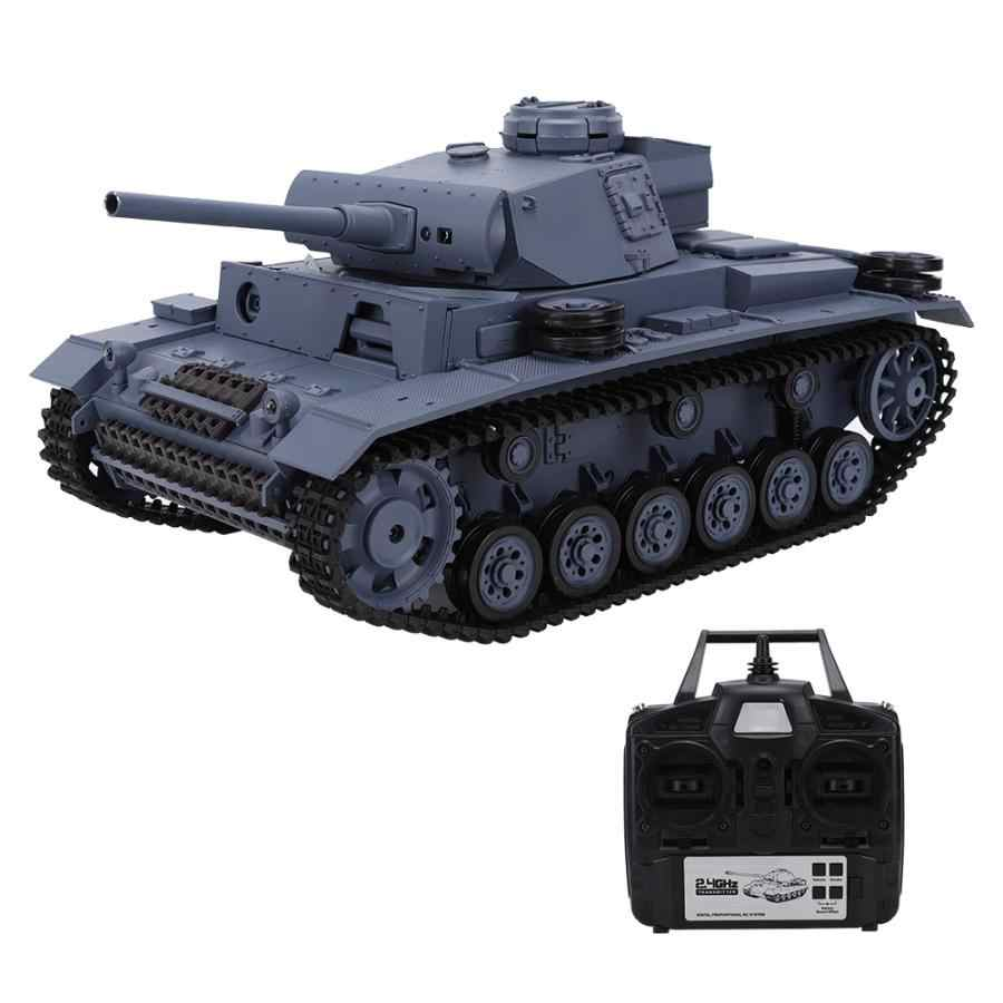 Игрушка с дистанционным управлением для Henglong 3848 1 1/16 german III L TYPE Medium 2 4 Ghz rc tank usb