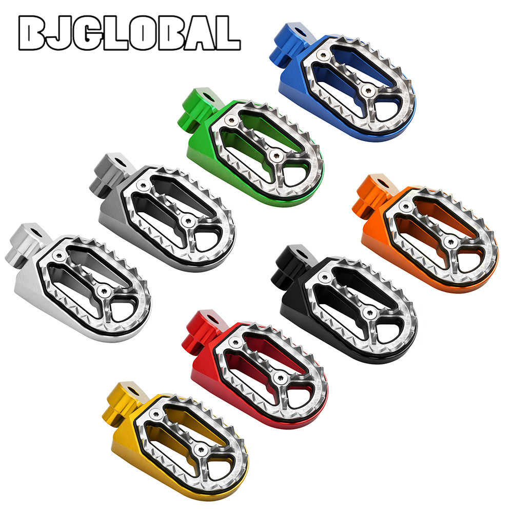 Motorcycle Foot Pegs Pedals Footrests Pit Dirt Bike For YAMAHA YZ250F WR250F YZ WR 250F YZ 450F 125 85 250 YZ YZ85 YZ125 YZ250