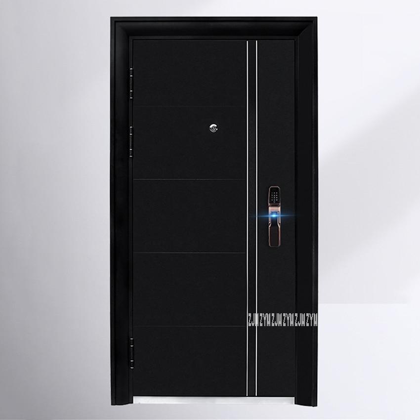 KR-9005 Household Simple Gate Entrance Door Burglarproof Door Anti-Theft Security Door With Intelligent Lock/Mechanical Lock