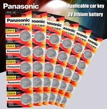 Panasonic Bateria De Lítio De Qualidade Superior 30 PÇS/LOTE 3V Botão Bateria de Relógio cr2016 Coin Baterias cr 2016 DL2016 ECR2016