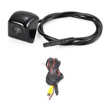 170-degree Wide Angle HD Night Vision CCD Car Rear View Reverse Camera Waterproof Vehicle Camera for Backup Parking LESHP Black