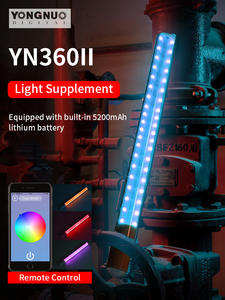 App-Control Video-Light Led-Stick Bicolor Photo Yn360-Ii YONGNUO 3200k RGB Bluetooth