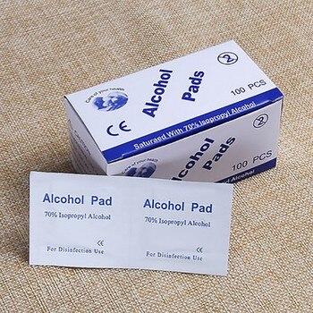 100pcs Alcohol Pad Disposable Medical Sterilization Disinfection Cotton Emergency Clean Sterilization Cotton Sheet