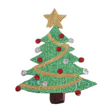 Sequin Christmas Tree Appliques DIY Sewing Christmas Decoration for Clothes Sewing Supplies DIY Novelty Jeans Sweater Hats Decor