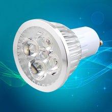 цена на 6W 4LED GU10 Spotlight High Light Intensity Indoor Light Bulbs LED Downlight Lamp Bulb Spot Light Pure/Warm White AC 110-240V