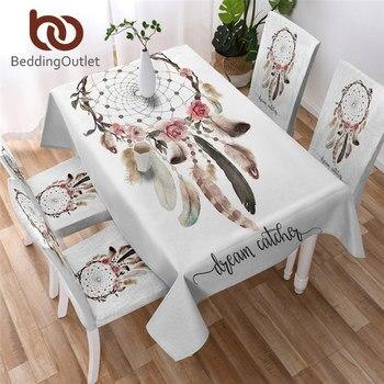BeddingOutlet, mantel impermeable con atrapasueños, mantel de mesa Floral funcional para Picnic, fiesta, manteles bohemios con Mandala