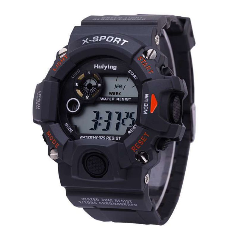 Fashion Boys Sports Outdoor Watch Student Waterproof Multifunctional Leisure Casual Electronic Watches T4MD