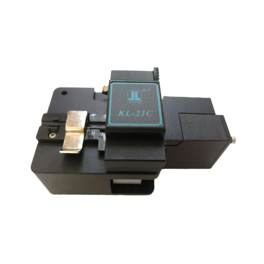 JILONG KL-21C Optical Fiber Cleaver Cliveuse Fibre Optic Cutter For Fusion Splicer Jilong Free Shipping