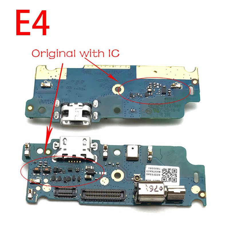 Reparatie Onderdelen Usb Power Opladen Dock Port Connector Flex Kabel Mic Microfoon Board Voor Motorola Moto G4 G5 G6 Spelen g3 X4 E5