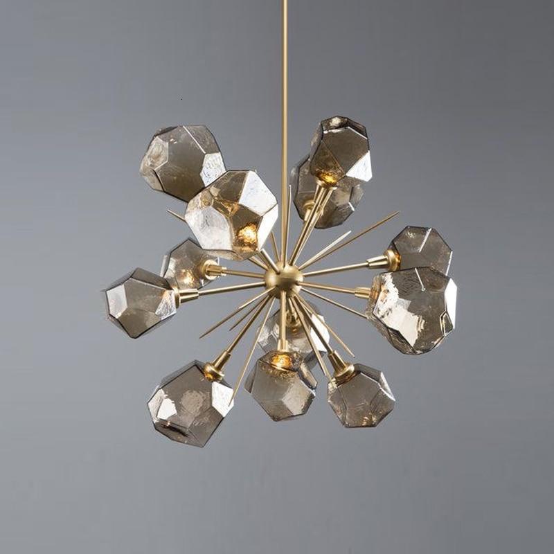 Modern Glass Ball  Living Room  LED  Pendant Lights Home Decoration E27 Light Fixture Luminaire Suspendu Industrial Lamp