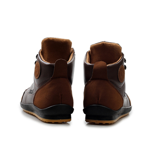 Image 5 - גברים של מגפי אביב ובסתיו חורף נעלי גדול גודל B מחלקת Botas Hombre עור מגפי נעלי סניקרס מגפי גברים נעליים