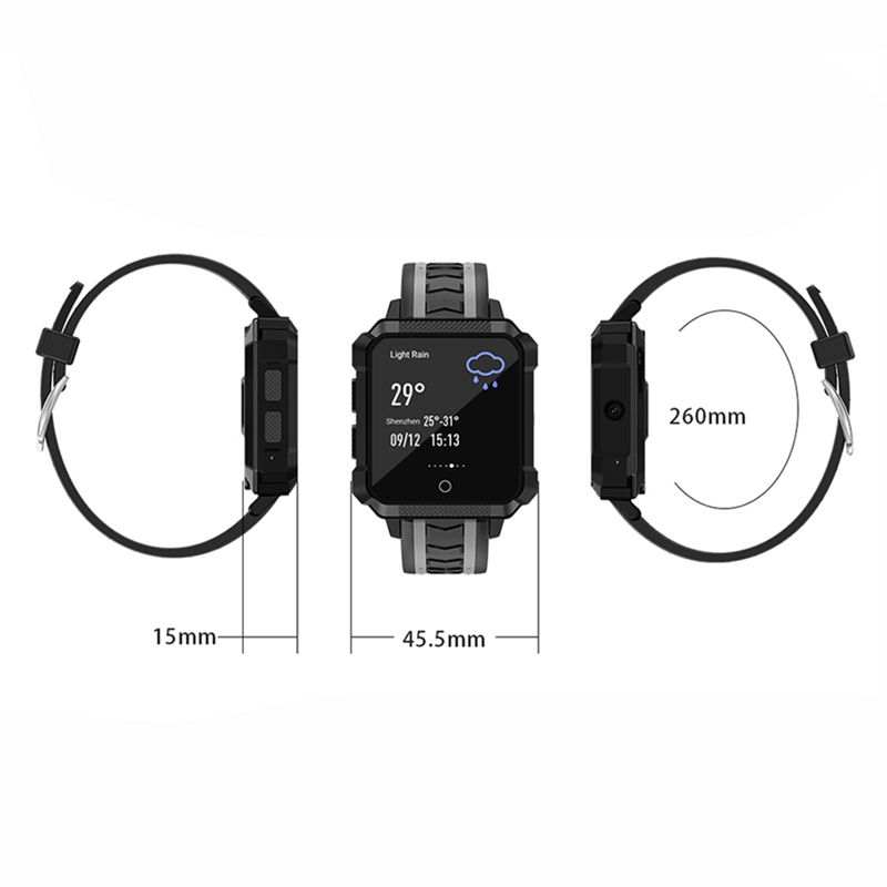 Смарт часы H7 водонепроницаемые мужские Смарт часы Android 4G Bluetooth спортивные Смарт часы Android водонепроницаемые Mtk6737 камера для улицы - 6