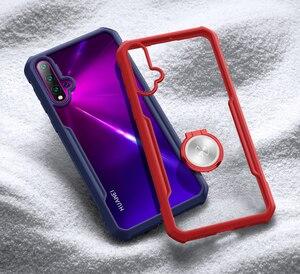 Image 5 - עבור Huawei נובה 5 טלפון מעטפת XUNDD כרית אוויר עמיד הלם 360 מגן שקוף חזרה כיסוי עבור Huawei נובה 5 פרו 5T Funda чехол