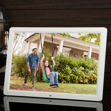 15 inch LED Digital Picture Frame Photo 16:9 Album Remote Multi-Media Player for Outdoor