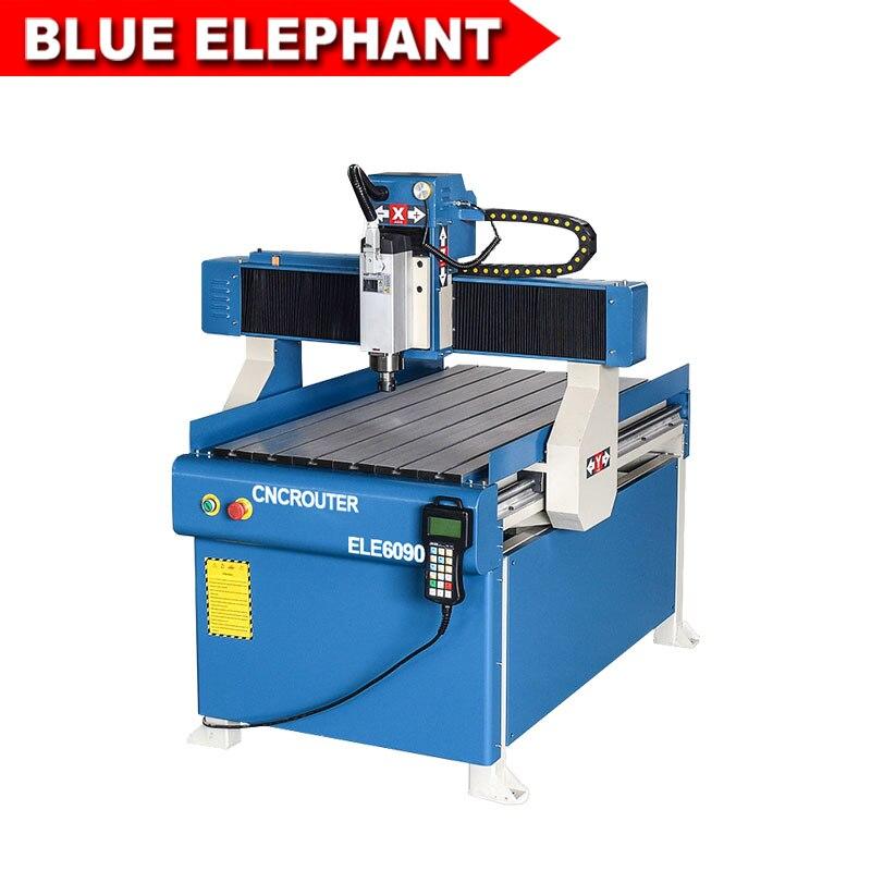 Blue Elephant 6090 Stock Machine 3d Model Artcam Design Cnc Router