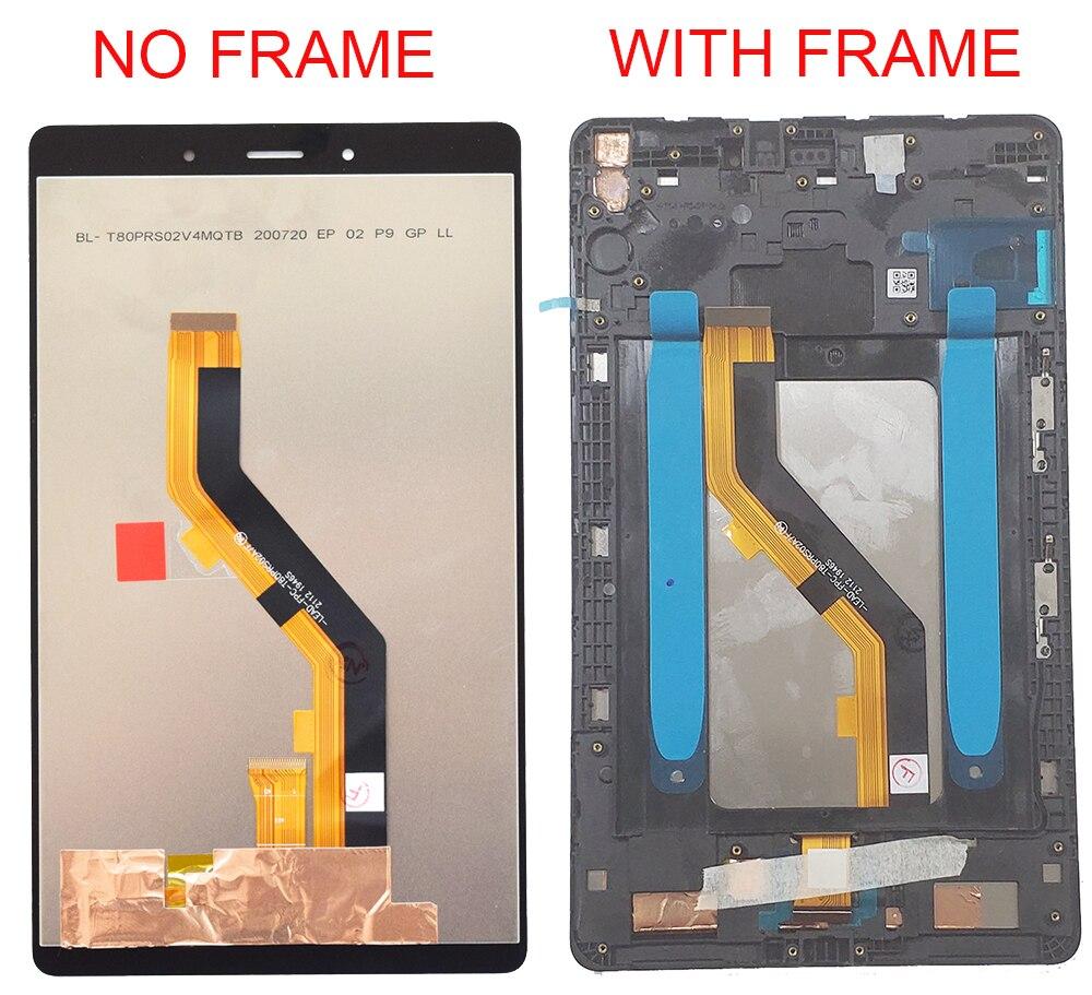 Оригинальный 8 дюймов для Samsung Tab A 8,0 2019 SM-T290 SM-T295 T290 T295 сенсорный экран ЖК-дисплей дигитайзер стеклянная панель в сборе-1