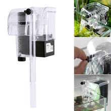 Fish tank fish turtle aquarium filter Waterfall Filter pump oxygen accessorie US/UK/EU Plug D30