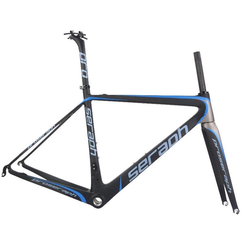 2019 Carbon Fiber T1000 Seraph Custom Paint Road Bike Frame Custom Desgin Bicycle Frame FM686