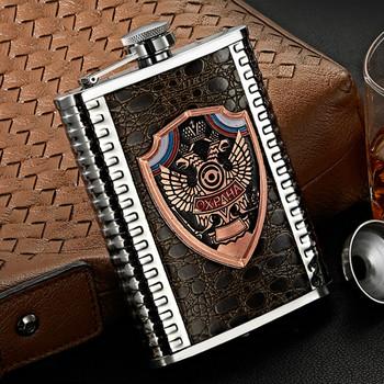 Przenośna whisky Hip Flask wódka Groomsmen prezenty piersiówka ze stali nierdzewnej Hip Flask Pulsera alkohol kuchenne naczynia do picia DB60J tanie i dobre opinie Mrs win CN (pochodzenie) Metal Mini