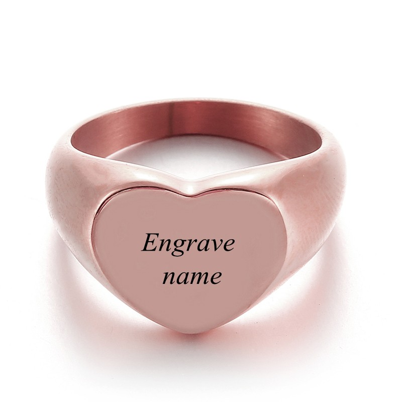Engrave Text Rose