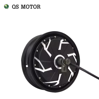 QS 12inch 260 3000w V4 80kmh fast speed electric in wheel moped hub motor for scooter high end 105l 500w rubber dual wheel hub in motor for electric scooter skateboard outdoor fun sports