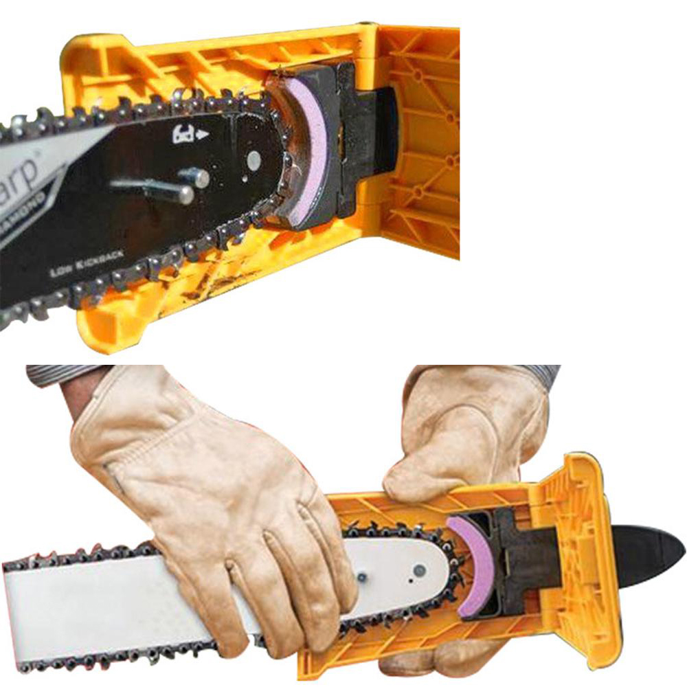 Chainsaw Chain Sharpening Kit For Chain Saw Grinder Grinding Tools Grinding Tools Wood Abrasive Grinder Woodworking Accessory