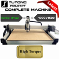 Screw Driven 1000mmx1500mm Latest V2.3 with Tensioning System WorkBee CNC Full kit Wood Metal Engraver Milling Machine