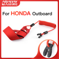 Float Motor Kill Stop Switch For Honda Outboard Engine Key Rope Safety Lanyard Tether 2.3 6 10 15 20 30 50 60 90 150 225 250hp